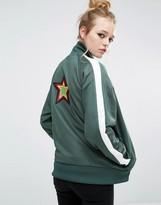 Fred Perry Bella Freud Star Patch Boyfriend Track Jacket