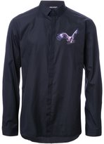 Neil Barrett eagle patch shirt - men - Cotton - 38