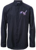Neil Barrett eagle patch shirt