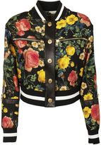 Fausto Puglisi Floral Bomber