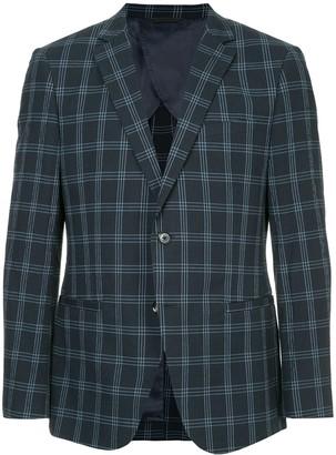 Durban Checked Suit Blazer