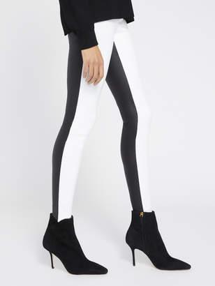 Alice + Olivia Maddox Color Block Leather Legging