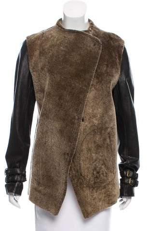 Gar-De Shearling & Leather Jacket