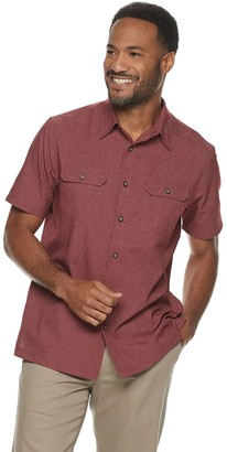 Croft & Barrow Men's Quick-Dry Solid Button-Down Shirt