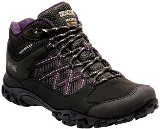 Regatta Edgepoint Waterproof Walking Boot - Black/Purple