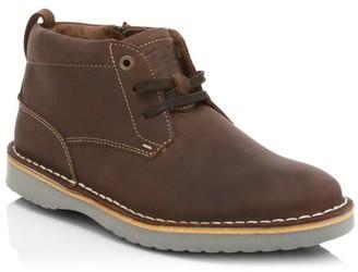 Florsheim Boy's Navigator Leather Chukka Boots