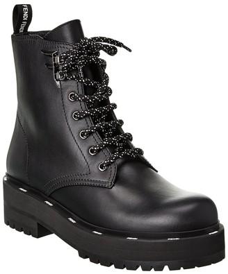 Fendi Freedom Leather Boot