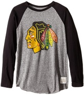 The Original Retro Brand Kids - Chicago Blackhawks Baseball Raglan Boy's Clothing