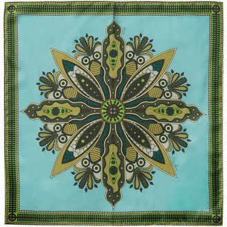 Gisy Tree Mandala Neckerchief Silk Scarf