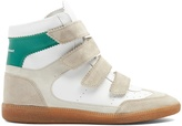 Isabel Marant Bilsy concealed-wedge leather trainers