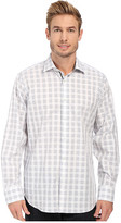 Bugatchi Naples Classic Fit Long Sleeve Woven Shirt
