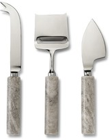Beige Marble Cheese Knives, Set of 3