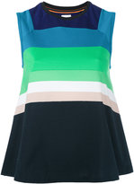 Paul Smith striped flared tank top - women - Cotton - S