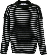 Ami Alexandre Mattiussi oversized crew neck sweater - men - Wool - S