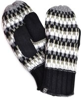 Isotoner Womens Deep Raised Frckle W/palm Mittens