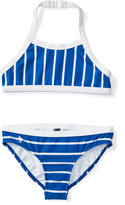 Ralph Lauren Striped Two-Piece Swimsuit