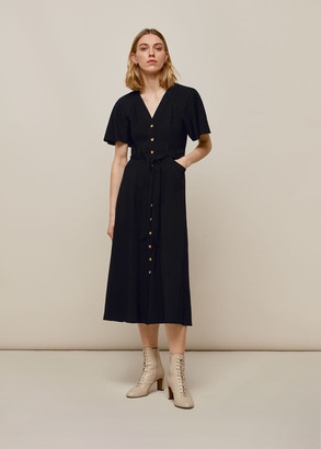 Anita Frill Sleeve Dress