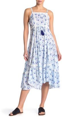 Tiare Hawaii Lace Detail Midi Dress