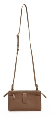 Lucky Brand Bosh Wallet Leather Crossbody Bag