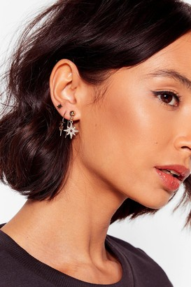 Nasty Gal Womens Intergalactic Travel 6-Pc Earring Set - Gold