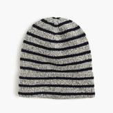 J.Crew Boys' striped cotton beanie hat