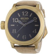 Welder Unisex 9100 K51 9100 Analog Display Swiss Quartz Beige Watch