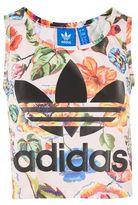 adidas Floral tank top