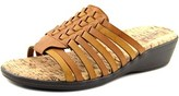 Easy Street Shoes Jana Women Open Toe Synthetic Slides Sandal.