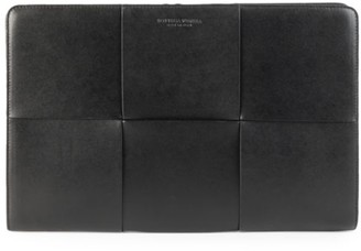 Bottega Veneta Urban Leather Portfolio Case