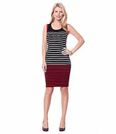 Nautica Milano Striped Sweater Dress