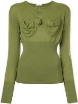 J.W.Anderson fitted knitted top