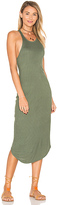 Issa de' mar Kirra Ribbed Dress in Sage. - size L (also in M,S)