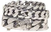 Emanuele Bicocchi Silver Curb Chain Ring