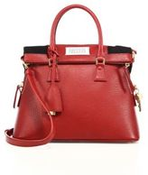Maison Margiela Small Top-Handle Leather Tote