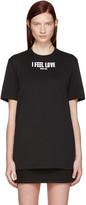 Givenchy Black 'I Feel Love' T-Shirt