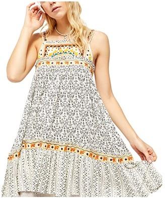 Free People Boarderline Dress (Ivory) Women's Clothing