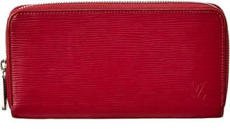 Louis Vuitton Pink Epi Leather Zippy Wallet