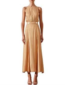Shona Joy Split Skirt Midi Dress