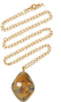 Cvc Stones Blaise 18K Gold, Diamond And Stone Necklace