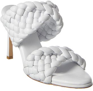 Bottega Veneta Curve Leather Sandal