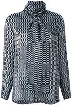 Fendi geometric pattern blouse
