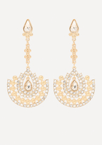 Bebe Ornate Drop Earrings