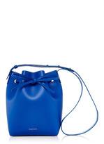 Mansur Gavriel Royal Blue Leather Mini Bucket Bag