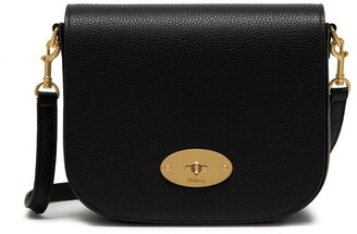 Mulberry Small Darley Satchel Black Small Classic Grain
