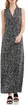 Vince Camuto Women's Modern Mosaic Halter Style Maxi Dress