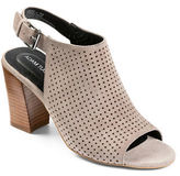 Me Too Meridia Perforated Suede Sandals