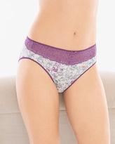 Soma Intimates Lace High Leg Brief