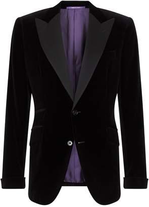 Ralph Lauren Purple Label Velvet Tuxedo Jacket