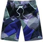 Kosbon Men's Swim Boardshorts Quick-dry Surf Beach Shorts Casual Sport Trunks. (XXXL, )