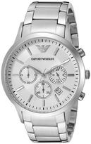 Giorgio Armani Sportivo Collection AR2458 Men's Stainless Steel Watch with Chronograph